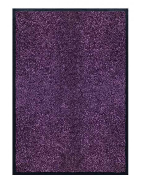 PAILLASSON Haut-de-gamme - Nylon uni violet - Rectangulaire 80 x 120cm