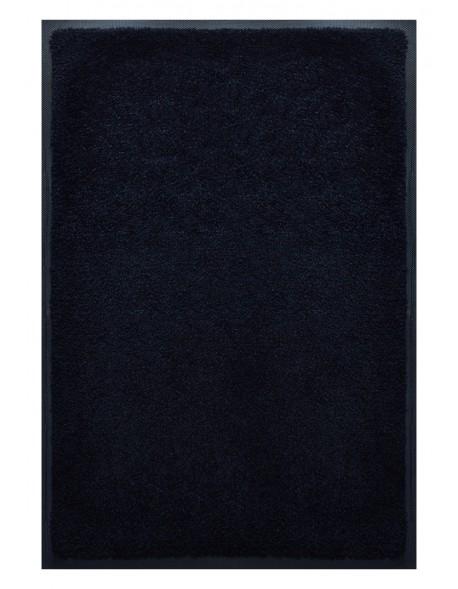 PAILLASSON Haut-de-gamme - Nylon uni noir - Rectangulaire 80 x 120cm