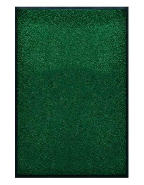 PAILLASSON Haut-de-gamme - Nylon uni vert - Rectangulaire 80 x 120cm