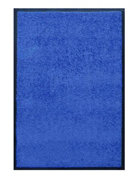 PAILLASSON Haut-de-gamme - Nylon uni bleu - Rectangulaire 80 x 120cm