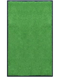PAILLASSON Haut-de-gamme - Nylon uni vert pomme - Rectangulaire 90 x 150cm