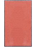 PAILLASSON Haut-de-gamme - Nylon uni saumon - Rectangulaire 90 x 150cm