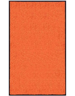 PAILLASSON Haut-de-gamme - Nylon uni orange - Rectangulaire 90 x 150cm