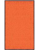 PAILLASSON Haut-de-gamme - Nylon uni orange - Rectangulaire 90 x 150cm