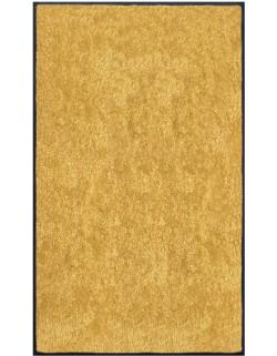 PAILLASSON Haut-de-gamme - Nylon uni jaune - Rectangulaire 90 x 150cm