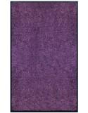 PAILLASSON Haut-de-gamme - Nylon uni violet - Rectangulaire 90 x 150cm
