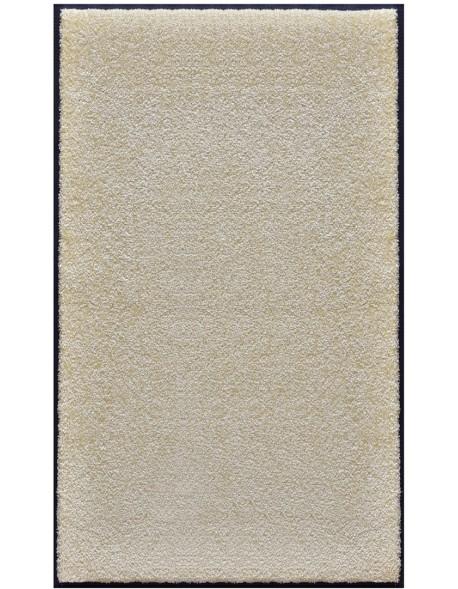 PAILLASSON Haut-de-gamme - Nylon uni blanc - Rectangulaire 90 x 150cm