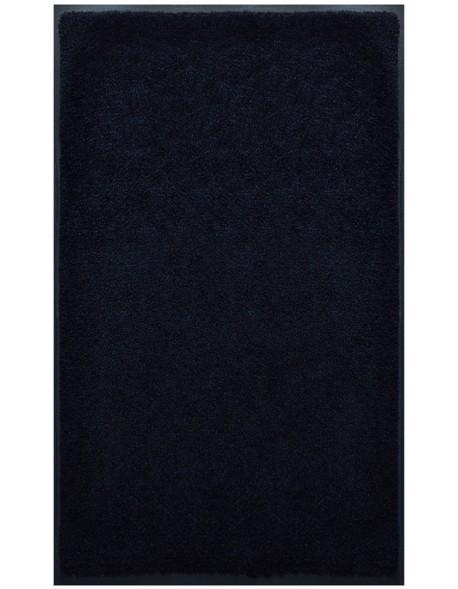 PAILLASSON Haut-de-gamme - Nylon noir uni - Rectangulaire 90 x 150cm