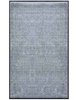PAILLASSON Haut-de-gamme - Nylon noir gris clair - Rectangulaire 90 x 150cm