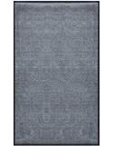 PAILLASSON Haut-de-gamme - Nylon gris foncé - Rectangulaire 90 x 150cm