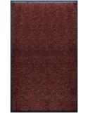 PAILLASSON Haut-de-gamme - Nylon marron foncé - Rectangulaire 90 x 150cm