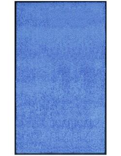 PAILLASSON Haut-de-gamme - Nylon bleu clair - Rectangulaire 90 x 150cm