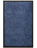 TAPIS D'ENTRÉE COTON - 40x60cm -PREMIUM BLEU
