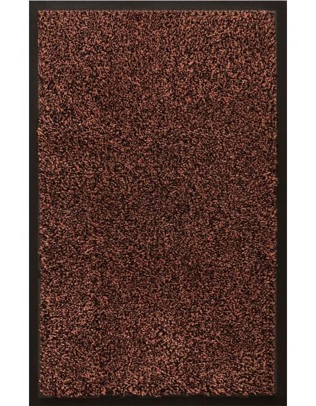 TAPIS D'ENTRÉE COTON - 40x60cm -PREMIUM MARRON FONCÉ