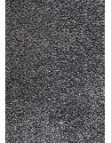 TAPIS PREMIUM COTON - TAILLE DEMI-LUNE 50x80cm - GRIS