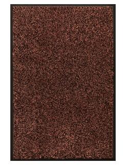TAPIS D'ENTRÉE COTON - 80x120cm - PREMIUM MARRON FONCÉ