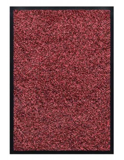 TAPIS PREMIUM NYLON CHINÉ - COULEUR BORDEAUX