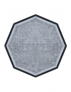 TAPIS PREMIUM NYLON UNI GRIS CLAIR - OCTOGONALE 90 x 90cm