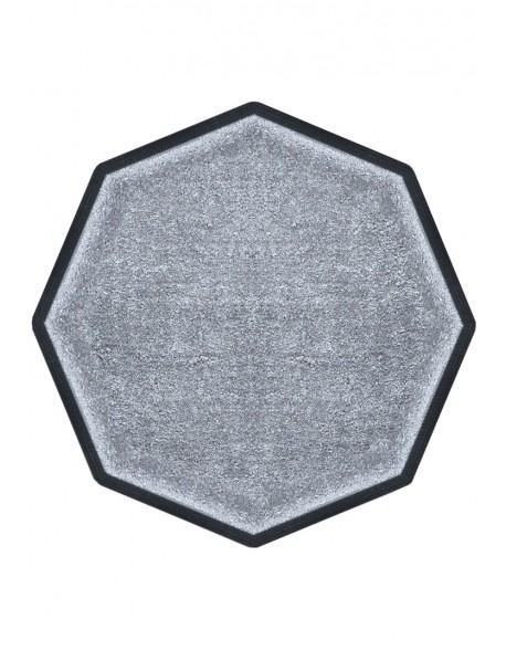 TAPIS DE PROPRETÉ PREMIUM NYLON UNI GRIS CLAIR - OCTOGONALE 90 x 90cm