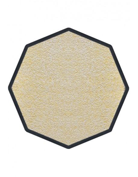 tapis de propret premium nylon blanc cass octogonale 90x90cm. Black Bedroom Furniture Sets. Home Design Ideas