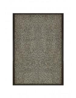 TAPIS DE PORTE D'ENTRÉE - NYLON CHINÉ GRIS - Rectangulaire 40 x 60cm