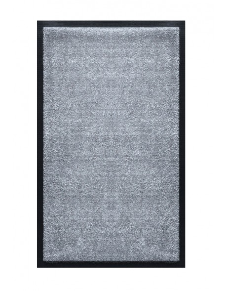 TAPIS DE SALLE DE BAINS - NYLON UNI GRIS CLAIR - Rectangulaire 50 x 120cm
