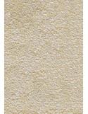 Tapis de salle de bains nylon uni blanc cassé - Rectangulaire 50 x 120cm