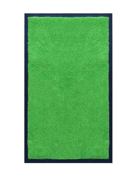 TAPIS DE SALLE DE BAINS - NYLON UNI VERT POMME - Rectangulaire 50 x 120cm