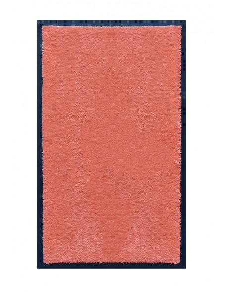 TAPIS DE SALLE DE BAINS - NYLON UNI SAUMON - Rectangulaire 50 x 120cm