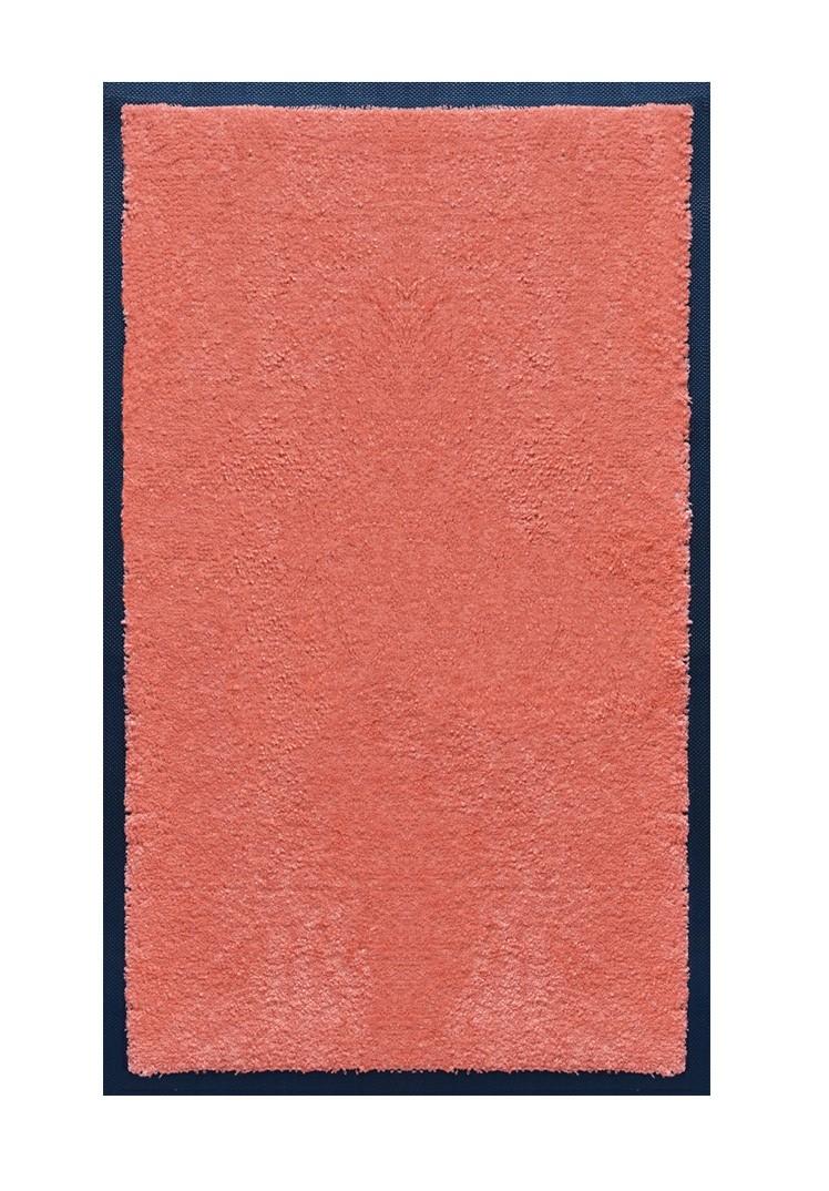 Salle De Bain Saumon tapis de salle de bains nylon saumon - rectangulaire 50 x 120cm