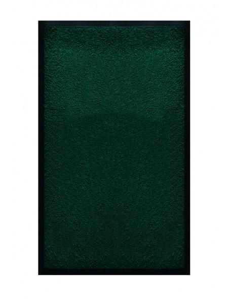 TAPIS DE SALLE DE BAINS - NYLON UNI VERT FONCÉ - Rectangulaire 50 x 120cm