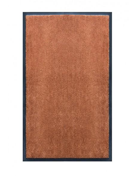 TAPIS DE SALLE DE BAINS - NYLON UNI VERT MARRON CARAMEL - Rectangulaire 50 x 120cm