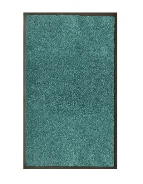 TAPIS DE SALLE DE BAINS - NYLON UNI TURQUOISE - Rectangulaire 50 x 120cm