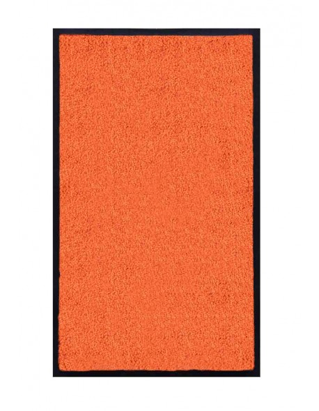 TAPIS DE SALLE DE BAINS - NYLON UNI ORANGE - Rectangulaire 50 x 120cm