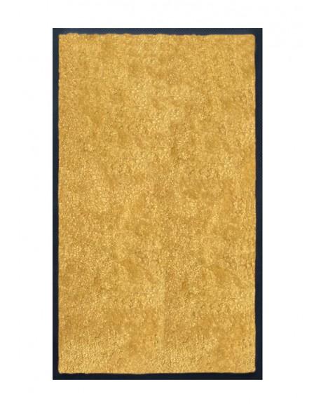 TAPIS DE SALLE DE BAINS - NYLON UNI JAUNE - Rectangulaire 50 x 120cm