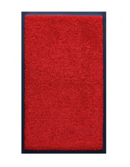 TAPIS DE SALLE DE BAINS - NYLON UNI ROUGE - Rectangulaire 50 x 120cm