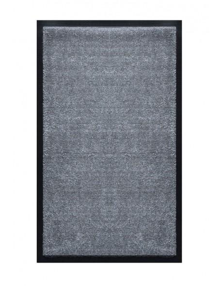 TAPIS DE SALLE DE BAINS - NYLON UNI GRIS FONCÉ- Rectangulaire 50 x 120cm