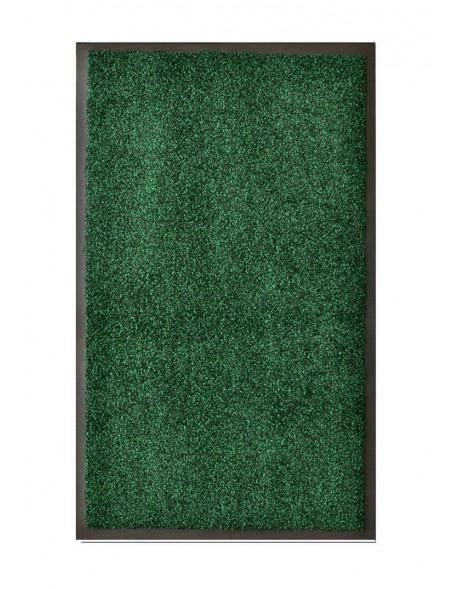 Tapis de salle de bains nylon vert chiné - Rectangulaire 50 x 120cm