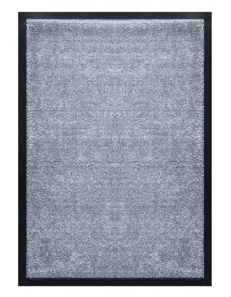TAPIS D'ACCUEIL - NYLON UNI GRIS CLAIR - Rectangulaire 60 x 90cm