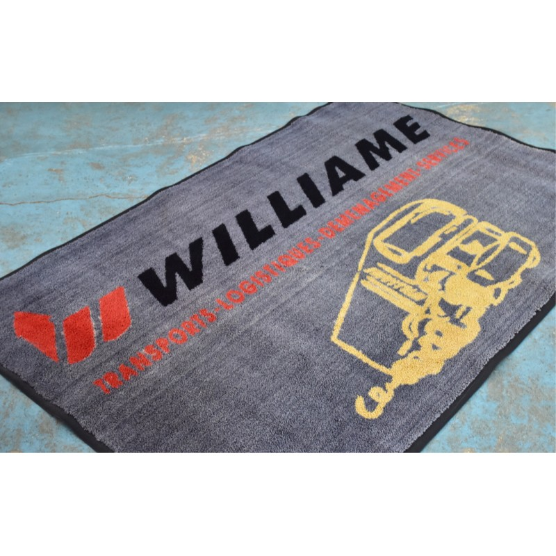 TAPIS LOGO PERSONNALISÉ : Transport Williame